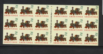 US Stamp #2719a MNH – Christmas Toys Fold it Yourself