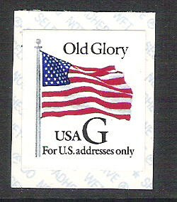 US Stamp #2886 MNH – 'G' Rate – PNS10 Coil