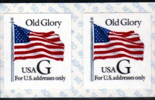 US Stamp #2886 MNH – 'G' Rate – Coil Pair