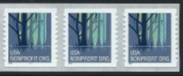 US Stamp #3207A MNH – Wetlands – Strip of 3
