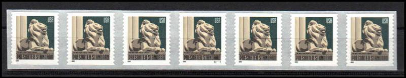 US Stamp #3447 MNH – NY Library Lion – PS7 #S33333 Coil Strip