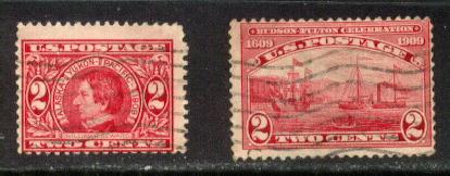 US Stamp # 370 and #372 SUPER Early Commemorative Issues