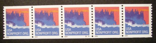 US Stamp #3864 MNH – Seacoast – PS5 #S1111 Coil