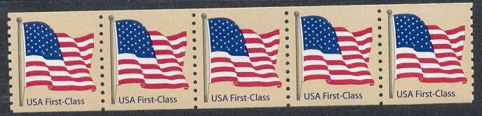 US Stamp #4131 MNH – US Non-Den. Flag – PS5 #S1111 Coil