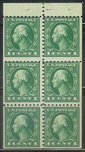 US Stamp # 498e MNH – George Washington Booklet Pane