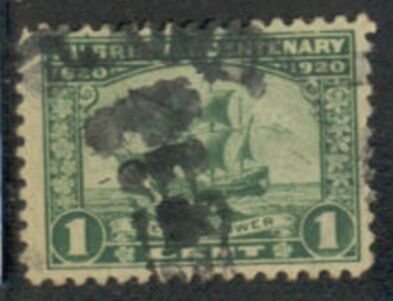 US Stamp # 548 – The Mayflower  – Pilgrim Tercentenary Issue
