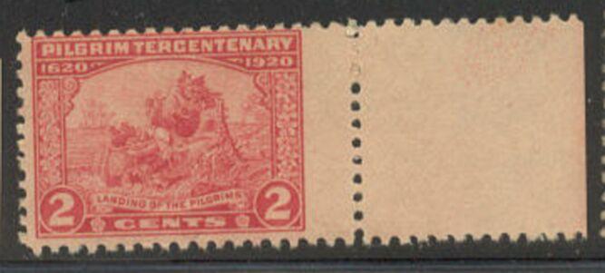 US Stamp # 549 MNH – Pilgrims Landing – Pilgrim Tercentenary Issue
