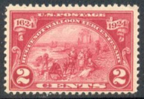 US Stamp # 615 MNH – Huguenot Walloon – Landing at Fort Orange