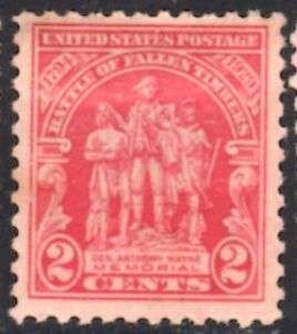 US Stamp # 680 Mint Battle of Fallen Timbers Single