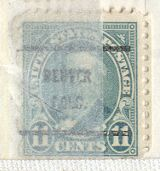 US Stamp # 692×61 R.B. Hayes w/ Denver CO Precancel