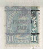 US Stamp # 692×63 Rutherford Hayes w/ SanFrancisco CA Precancel