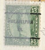 US Stamp # 698×61 Niagara Falls w/ Philadelphia PA Precancel