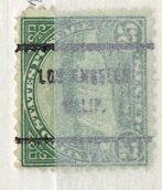 US Stamp # 699×61 Niagara Falls w/ Los Angeles CA Precancel
