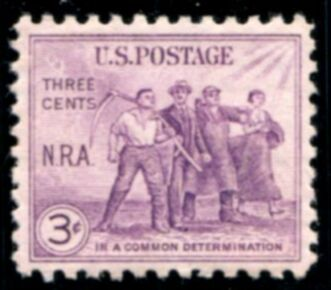 US Stamp # 732 MNH – National Recovery Act Issue