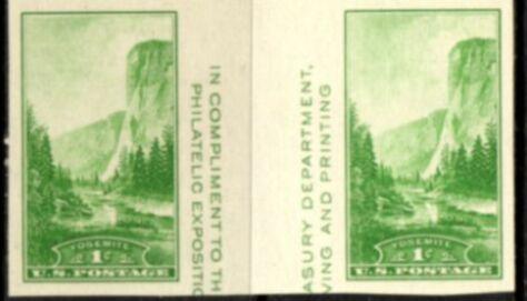 US Stamp # 769a – Farley Special Printing Horizontal Pair