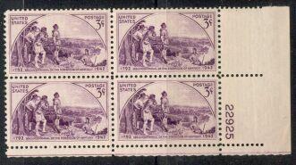 US Stamp #904 MNH – Kentucky Statehood – Plate Block / 4