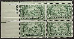 US Stamp #987 MNH – Amer. Bankers Assoc. – Plate Block of 4