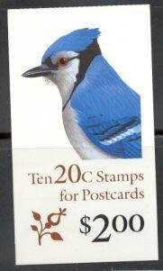 US Stamp #BK172 MNH – Blue Jay w/4 #2483a Panes