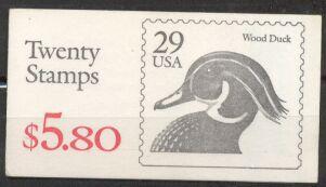 US Stamp #BK174 MNH – Wood Ducks w/2 #2484a Panes