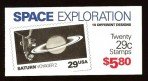 US Stamp #BK192 MNH – Space Exploration w/ 2 Panes #2577a