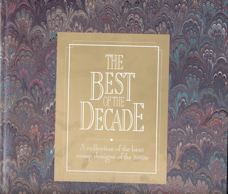 US Stamp Year 1981-90 Best of Decade Folder & All MNH Stamps