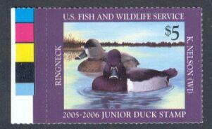US Scott #JDS13 – Junior Duck Stamp