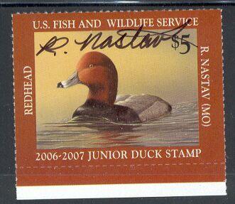 US Scott #JDS14 – Artist Signed Junior Duck Stamp