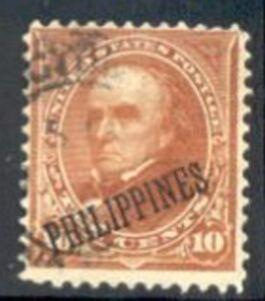 Philippines Stamp #217A – Daniel Webster