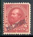 Philippines Stamp #221 Mint James A. Garfield