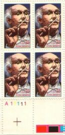 US Stamp #2411 MNH Performing Arts – Toscanini – Plate Block of 4
