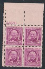 US Stamp #960 MNH – William White – Plate Block of 4
