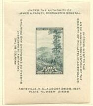 US Stamp # 797 MNH – Society of Philatelic Americans Souvenir Sheet