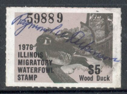 US Scott #IL02 – WONDERFUL Wood Duck