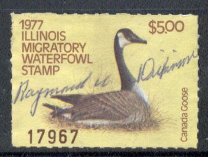 US Scott #IL03 – COMMANDING Canada Goose