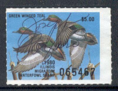 US Scott #IL06 – GREAT Green Winged Teal Ducks