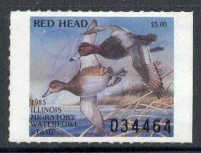 US Scott #IL11 – REMARKABLE RedHead Ducks in Flight