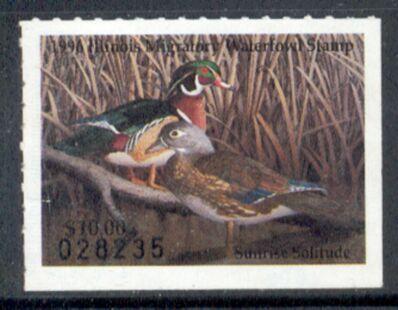 US Scott #IL22 MNG – WONDERFUL Wood Ducks