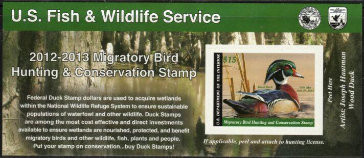 US Scott #RW79A MNH – WONDERFUL Wood Duck Self-Adhesive