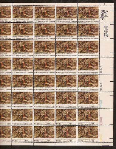 US Stamp #1722 MNH – Herkimer at Oriskany – Full Sheet