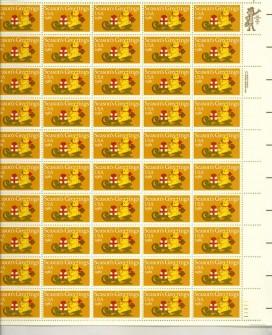US Stamp #1940 MNH – Christmas Teddy Bear – Full Sheet