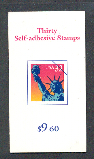 US Stamp #BK260 MNH – Statue of Liberty Booklet