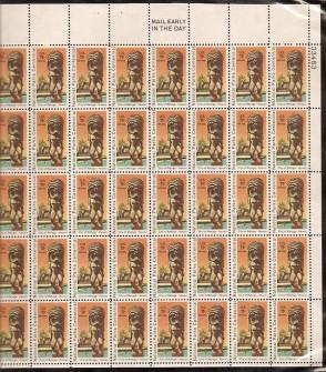 US Stamp #C 84 MNH – National Parks Centennial – Full Sheet