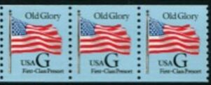 US Stamp #2888 MNH – 'G' Rate (FC Presort) – Coil Strip of 3