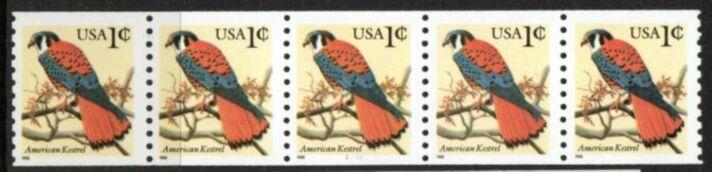 US Stamp #3044a MNH – American Kestrel PNC5 (YMCB)