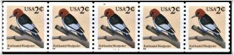 US Stamp #3045 MNH – Red-Headed Woodpecker PNC5