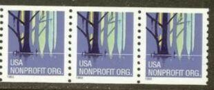 US Stamp #3207 MNH – Wetlands – Coil Strip of 3