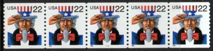 US Stamp #3353 MNH – Uncle Sam PNC5 #1111