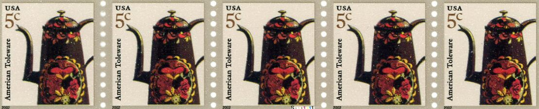 US Stamp #3612 MNH – Coffee Pot – PS5 #S11111 Coil