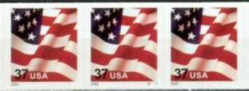 US Stamp #3632A MNH – US Flag – PS3 #S1111 Coil