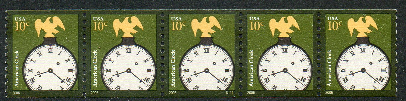 US Stamp #3762 MNH – Clock – PS5 #S1111 Coil